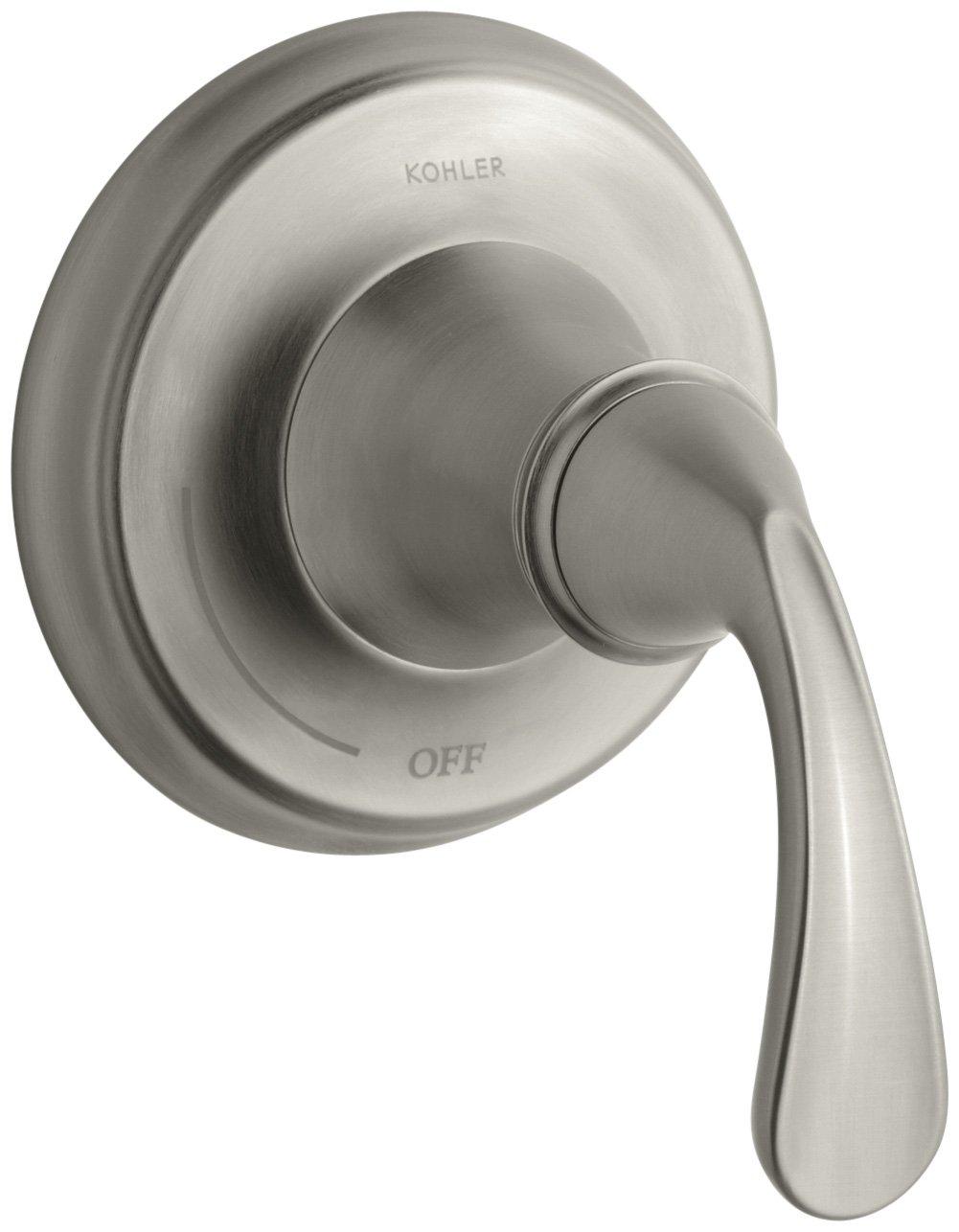 KOHLER K-T10360-4-BN Forte Volume Control Trim, Vibrant Brushed Nickel