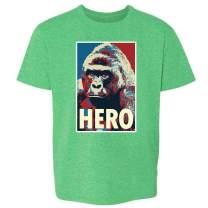 Harambe Pop Art Hero Meme Quote Political Clothing Youth Kids Girl Boy T-Shirt