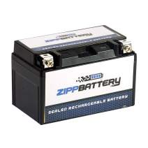 Rechargeable YTZ10S-BS High Performance Motorcycle Battery - Maintenance Free - Replacement Sealed AGM