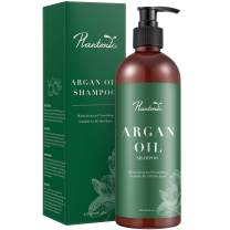 Plantonic Organic Moroccan Argan Oil Shampoo Nourishing, Moisturizing & Volumizing Shampoo with Keratin for Women and Men, for Colored and All Hair Types,16 fl. oz