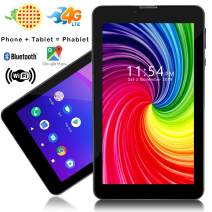 Indigi Slim 7-inch Factory Unlocked GSM 4G LTE Dual Core Tablet PC Phone - Google Certified Android Pie - QuadCore, 2GB RAM/16GB Storage