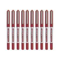 Uni-ball Eye Micro Ub-150 Gel Ink Pen - 0.5 Mm - 10 Pcs - Uni Mitsubishi Pencil (Red)