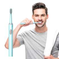 Travel Electric Toothbrush - Leyoung Portable Waterpoof Sonic Powerful Vibration with AAA Battery Powered Electronic Toothbrush, for Daily Oral Care Trip Valentine's Day Gift for Her Galentine's Gift