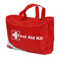 WNL Products FAK6100 Deluxe First Aid Kit, Comprehensive Emergency Medical Supplies Kit and Mini Tin Kit, 182 Pieces