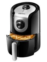 Chefman Mini Air Fryer, Healthy, Oil, Adjustable Temperature Control 30 Minute Timer, Dishwasher Safe Parts, BPA Free, 1.6 Liter, Black