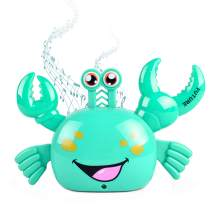 M.best Cartoon Electric Crab Toys, LED Light Up Walking Crab with Music, Gift Ideas for Kids Boys Girls Christmas/Birthday/Holiday (Blue)