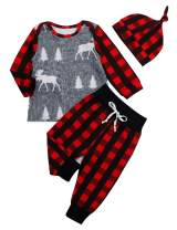 Baby Boy Outfits Long Sleeve Rawr Dinosaur Hoddie and Pant Clothes Set 2Pcs