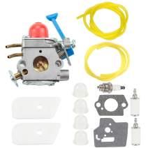 Kuupo 128LD C1Q-W40A Carburetor with Air Filter Tune Up Kit for 128C 128L 128LDX 128R 128RJ 128DJX 124L 125L 125LDX 545081848 545130001 Trimmer Carb