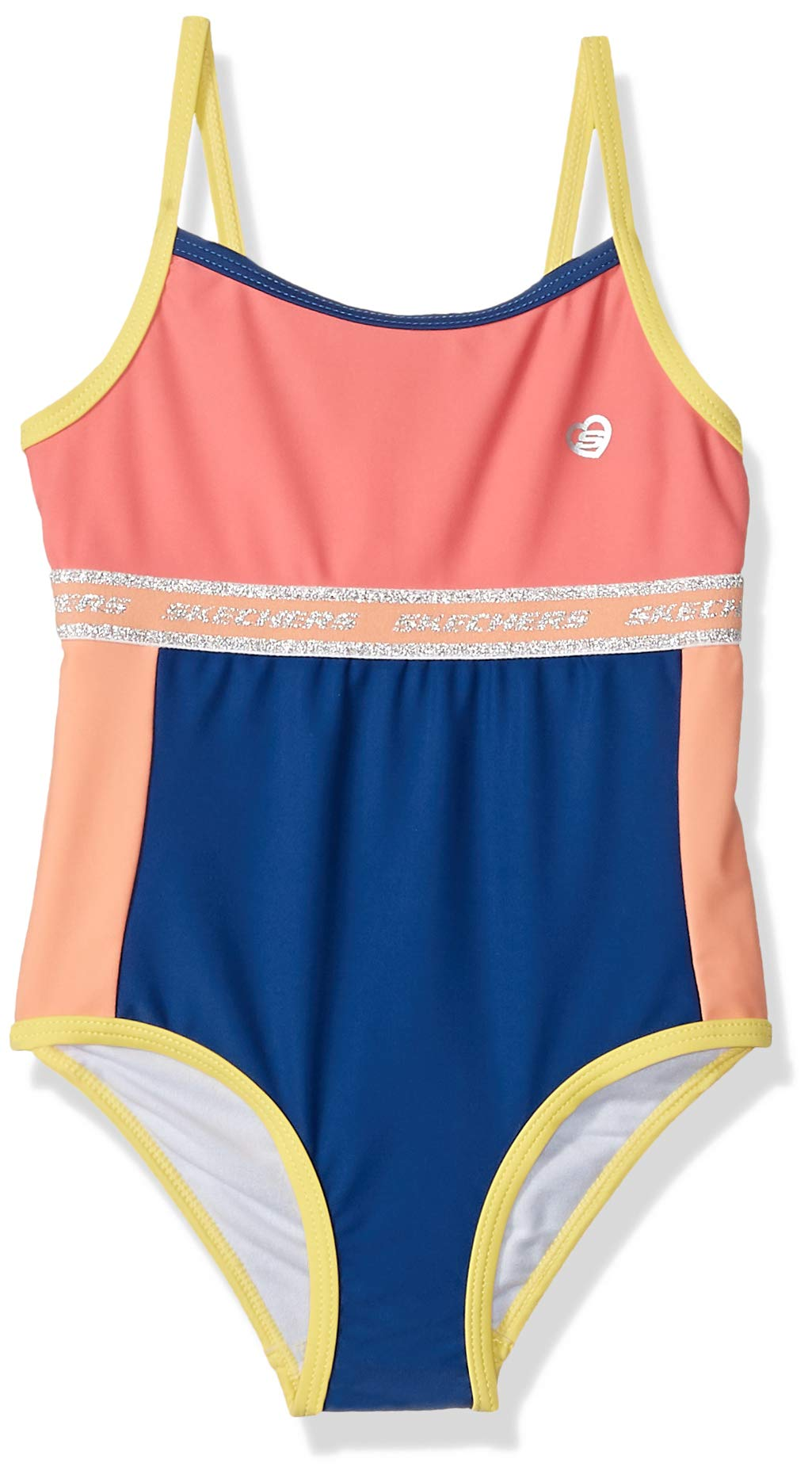 Skechers Girls' 1-Piece Swim Bathing Suit