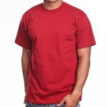 Super Heavy Mens T-Shirt, 4XL, Red