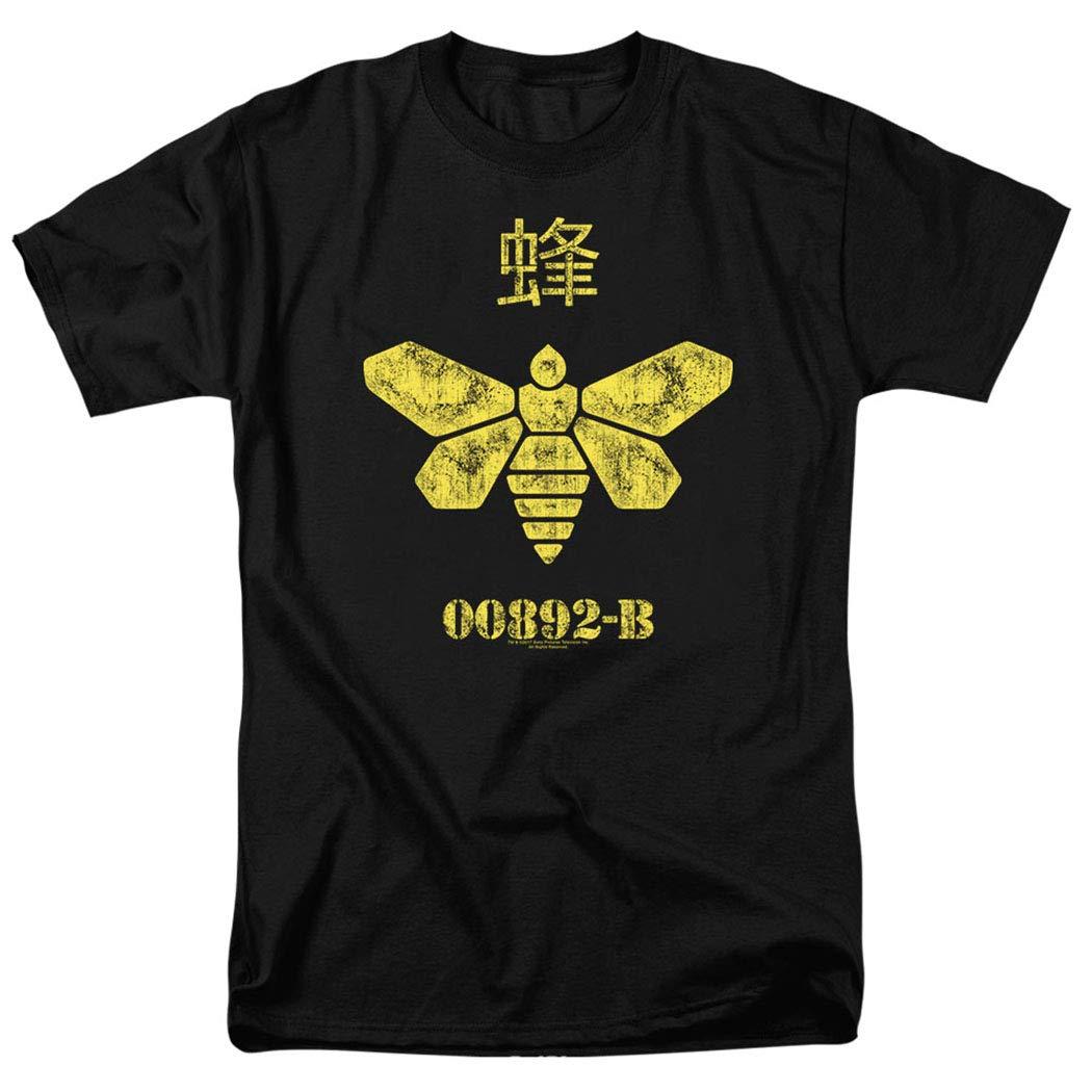 Popfunk Breaking Bad Golden Bee T Shirt & Stickers (X-Large)