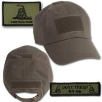 Gadsden Tactical Hat & Patch Bundle (2 Patches + Hat) - Olive Drab