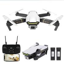 GoolRC GW89 RC Drone with Camera 1080P HD WiFi FPV Drone, Gesture Photo Video Altitude Hold Foldable RC Quadcopter with 2 Battery