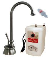 "Westbrass D261HFP-07 Calorah Traditional Hot Water Dispenser and Tank, 10"", Satin Nickel"