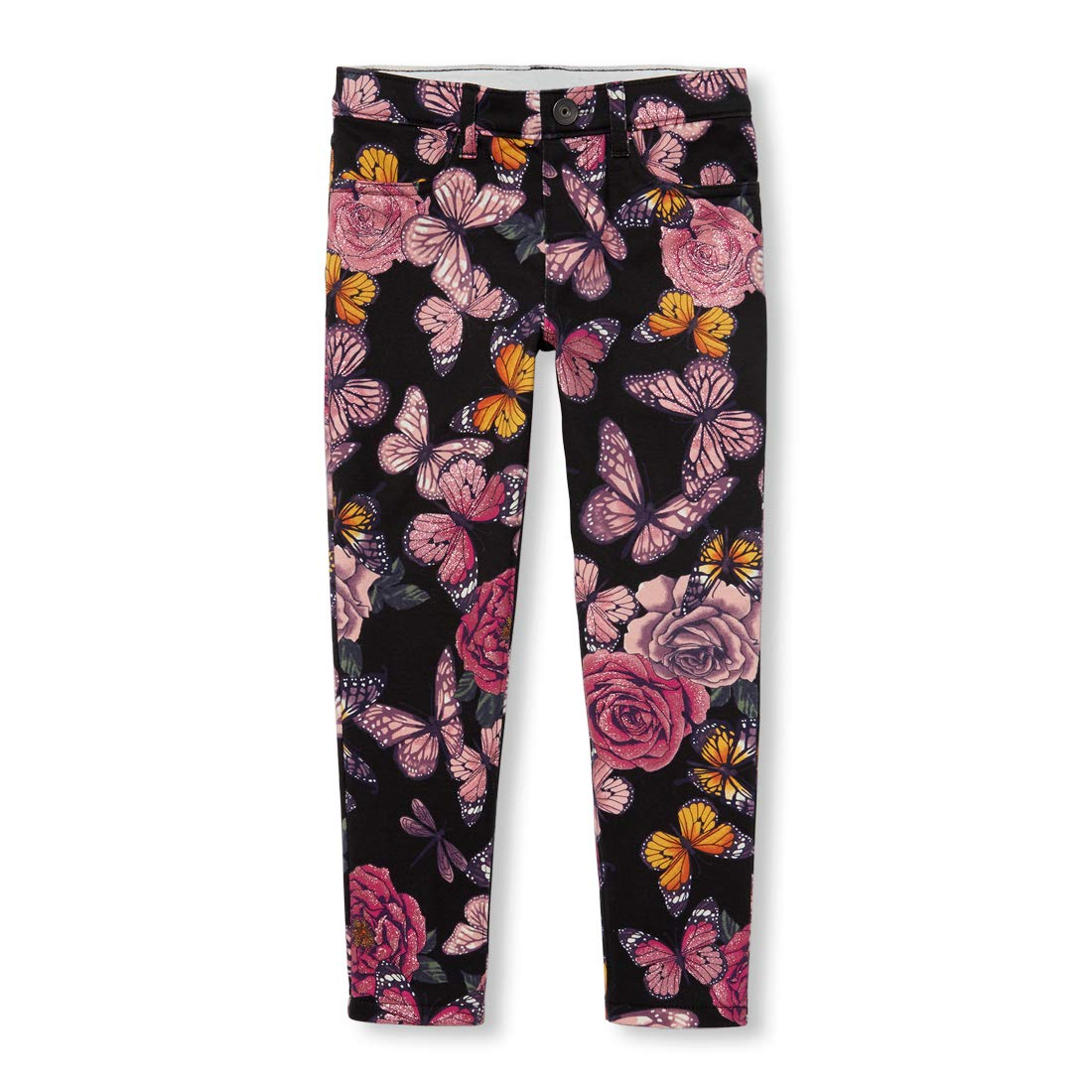 The Children's Place Big Girls Floral Jeggings