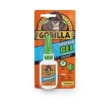 Gorilla Super Glue Gel, 15 Gram, Clear, (Pack of 1)
