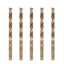 Hymnorq 17/64 Inch Dia. x 4.13 Inch Long M35 Cobalt Steel Twist Jobber Drill Bits 5Pcs Pack, 135 Degree Pilot Split Point, Extremely Heat Resistant, for Stainless Steel and Cast Iron