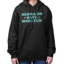 Mermaids Have More Fun Swimming Princess Hoodie