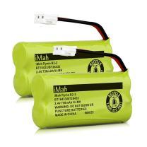 iMah BT18433/BT28433 Cordless Phone Battery, Also Compatible with AT&T VTech BT184342/BT284342 BT183348/BT283348 BT8300 BT1011 BT1018 BT1022 BT1031 2SN-AAA55H-S-J1 CS6229 Telephone, Pack of 2
