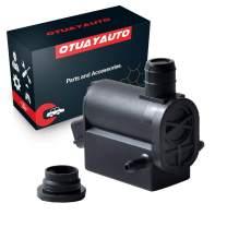 OTUAYAUTO Windshield Washer Pump with Grommet For Hyundai Accent | Elantra | Santa Fe, Kia Borrego | Forte | Forte 5 | Sorento | Soul 98510-1W000