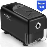 Electric Pencil Sharpener Heavy Duty, AFMAT Pencil Sharpener for Classroom, Auto Stop, Super Sharp & Fast, Commercial Pencil Sharpener for 6-8mm No.2/Colored Pencils, School/Office/Home,Christmas Gift