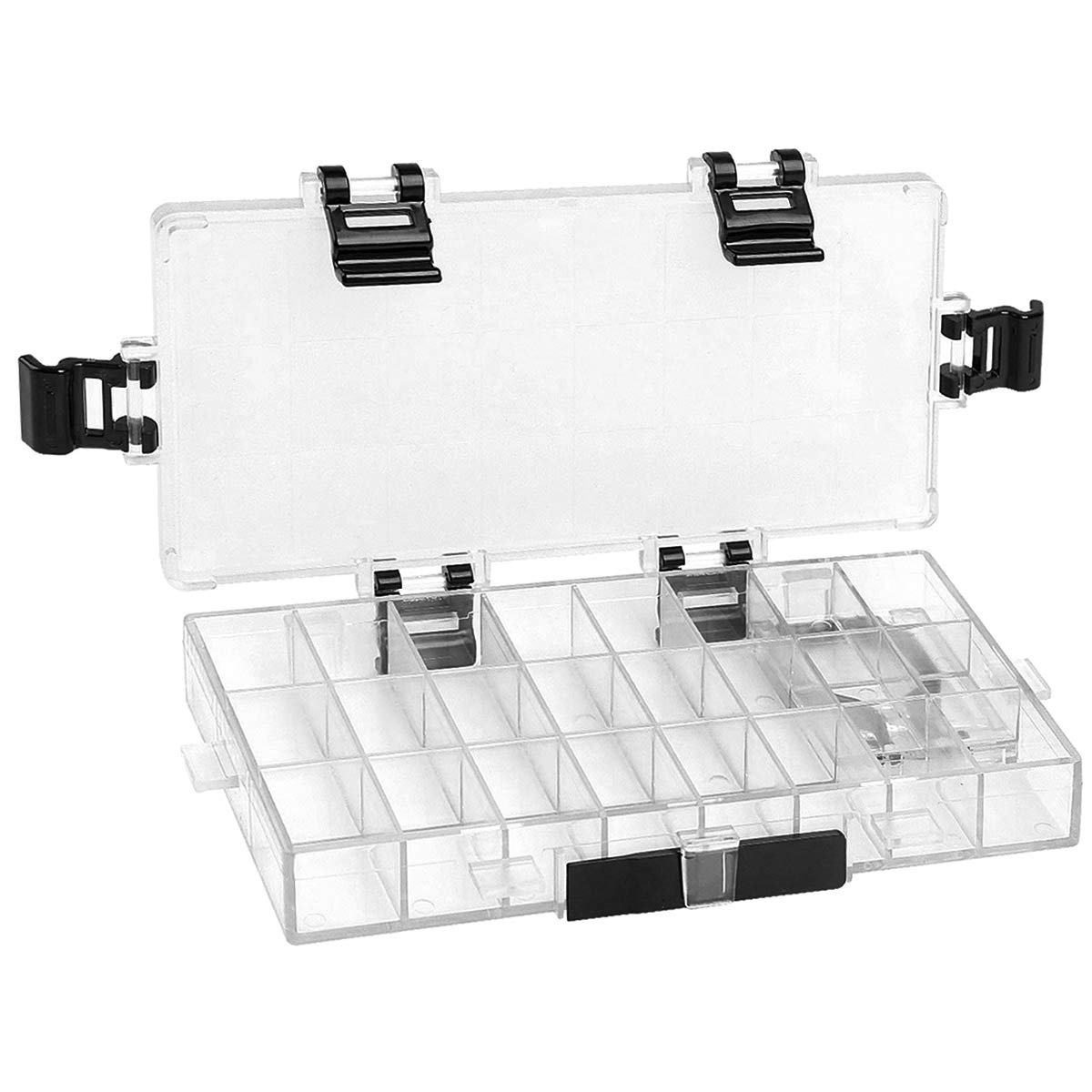 Transon Paint Storage Palette Box 24 Wells Airtight Stay Wet for Watercolor, Gouache, Acrylic and Oil Paint