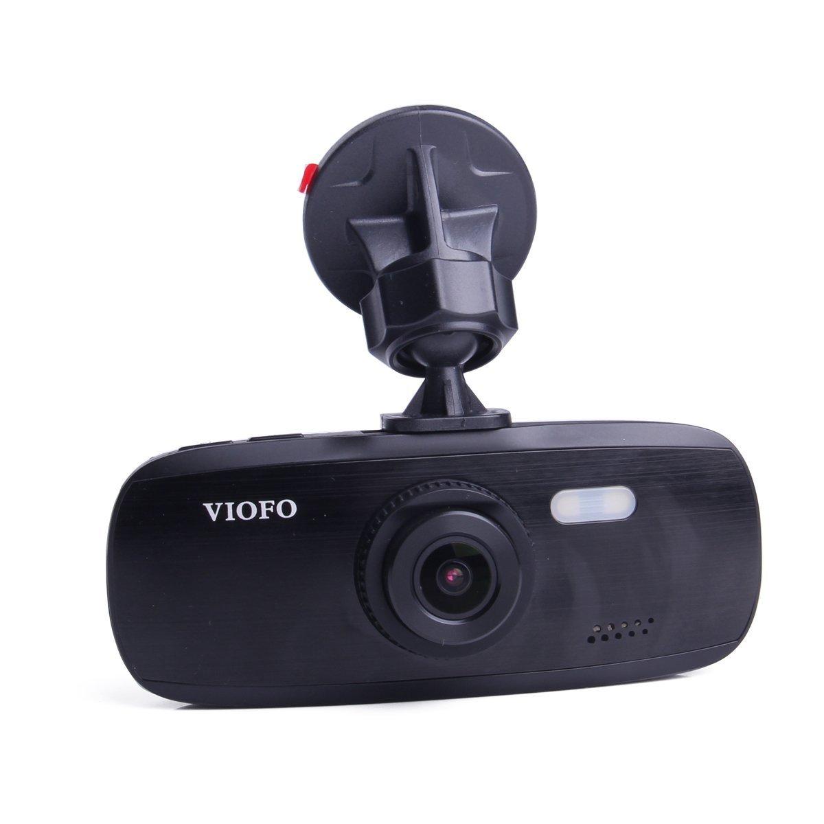 VIOFO G1W-S 2017 NT96650 + Sony IMX323 Car Dash Camera   Full 1080P HD Video & Audio Recording Car DVR Camera Recorder   G-Sensor Capabilities (New GPS Option)