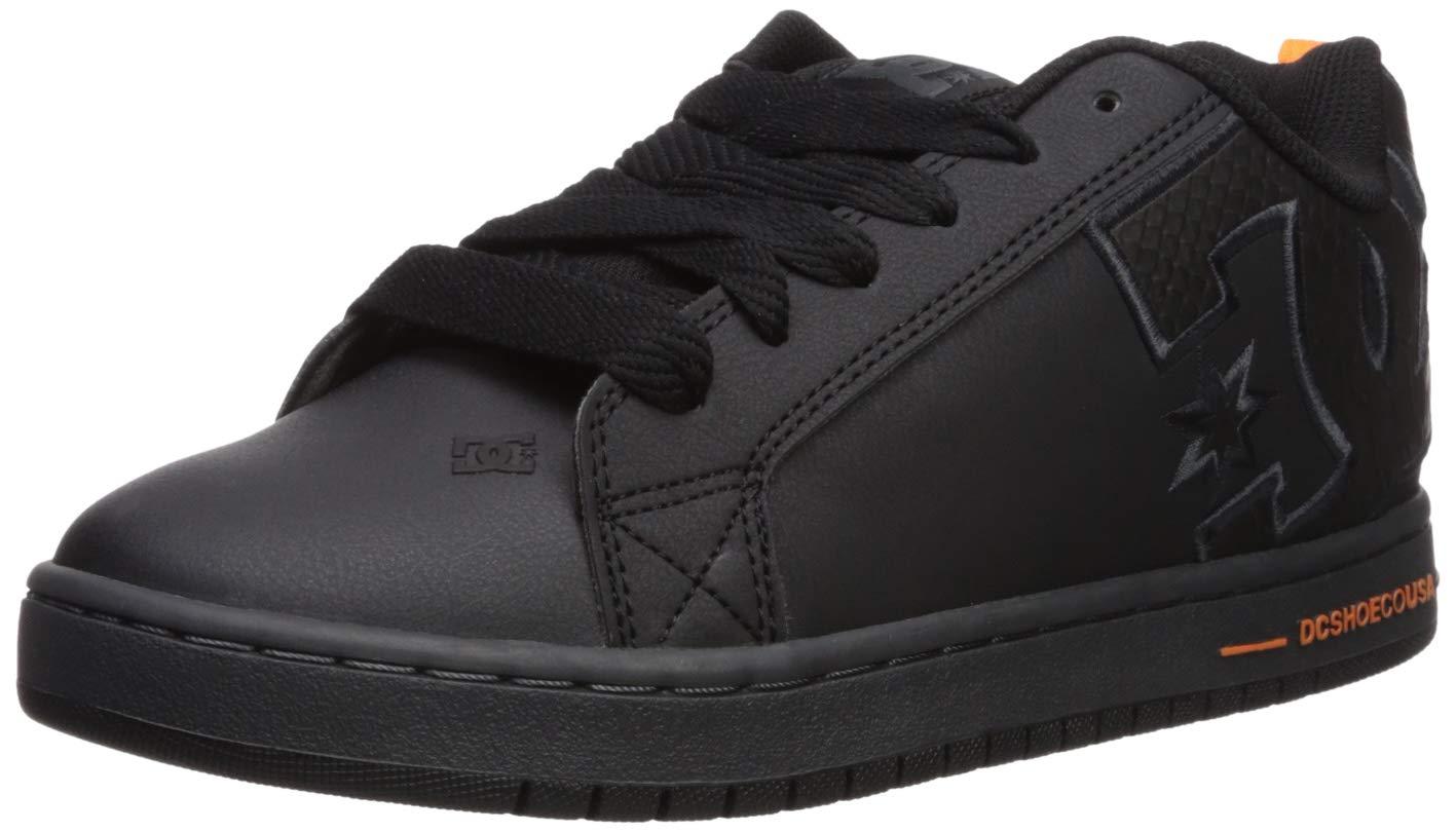 DC Men's Court Graffik SE Skate Shoe, black/battleship/black, 9 D M US