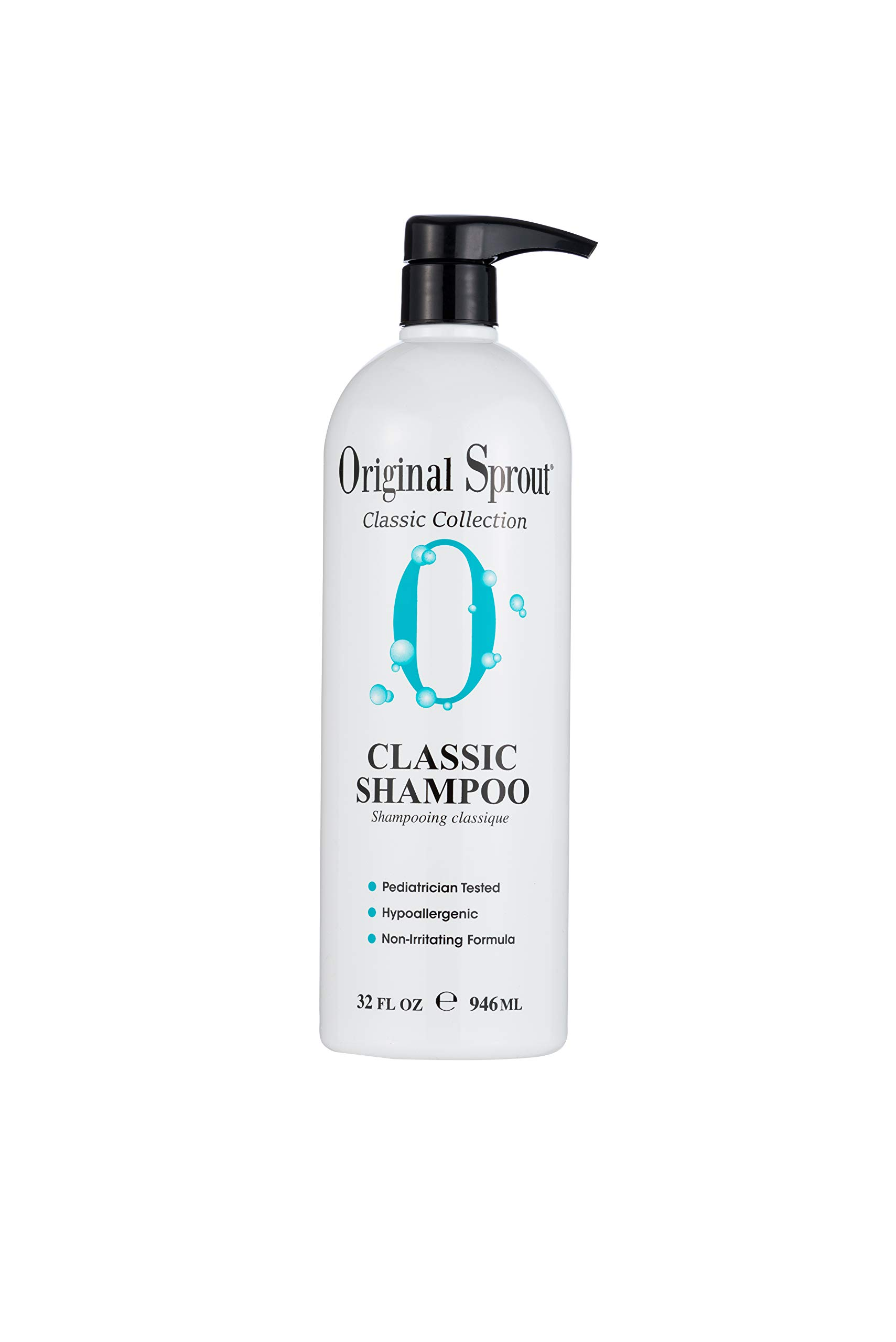 Original Sprout Natural Shampoo. Organic Sulfate Free Shampoo for All Natural Hair Care. 32 ounce.