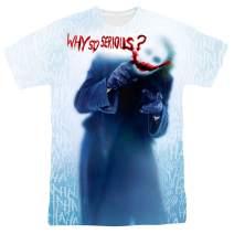 Popfunk The Dark Knight Heath Ledger Why So Serious Joker T Shirts & Stickers