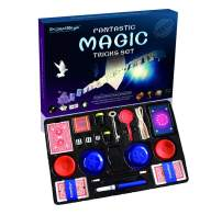 BMM010 Blue Fantastic Magic Trick Toys Set Includes 15 Great Magic Props Collection Ideal Gift for Children and Young Magicians