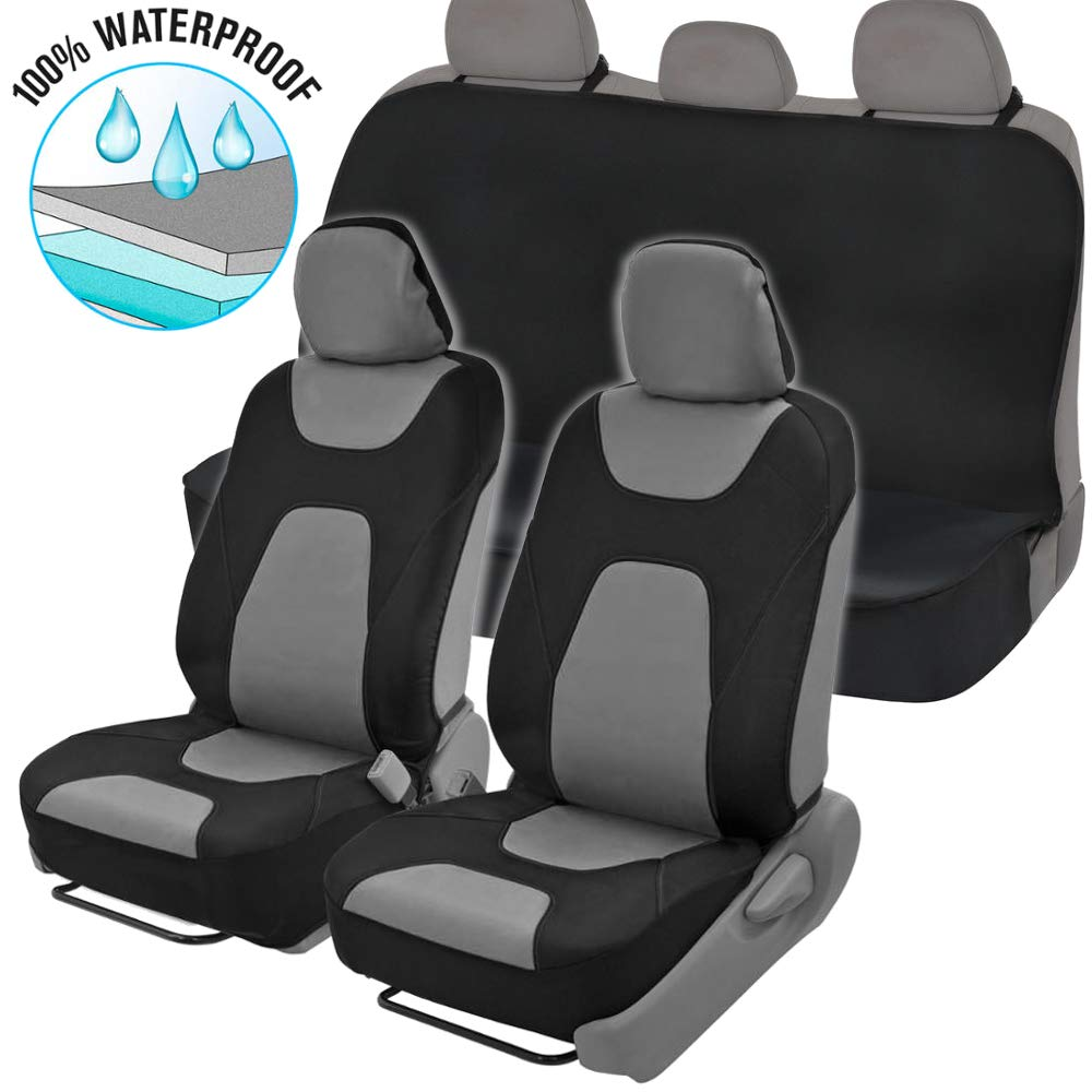 DPIST Garfield Car Seat Covers Protector 2pcs,Universal Fit,Used Four Seasons
