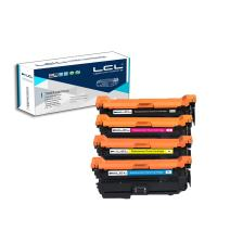 LCL Remanufactured Toner Cartridge Replacement for HP 507A CE400A CE401A CE402A CE403A M551 M551N M551DN M551XH M575f M575c M575dn M570dw (4-Pack Black Cyan Magenta Yellow)