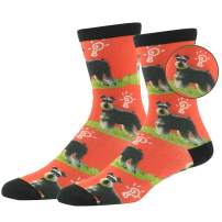 Hissox Unisex Animal Printed Leopard Patterned Novelty Crew Casual Gifts Socks