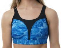 Aqua Design Womens High Impact Athletic Sports Swim Bra