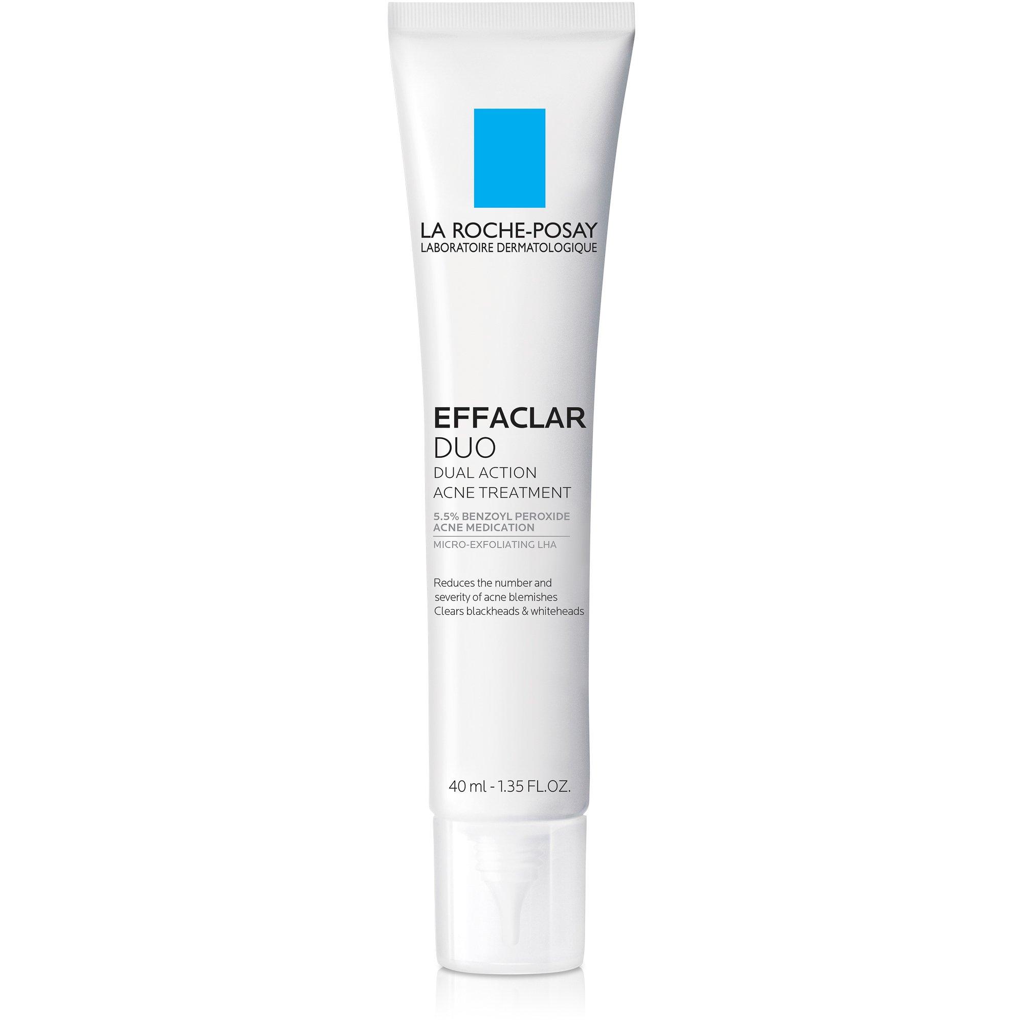 La Roche-Posay Effaclar Duo Acne Treatment with Benzoyl Peroxide, 1.35 Fl Oz.