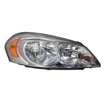 Aftermarket Replacement Passenger Headlight Lens Compatible with 2006-2013 Impala 25958360