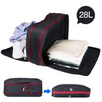 Winjoy Compression Packing Cubes for Travel,28L Luggage Organizers Packing+Extensible Storage Bag-Dry and Wet Separation for Travel,Camping,Backpack,Gym …