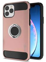 CoverON Protective Magnetic Ring Holder RingCase Series for iPhone 11 Pro Max Case (2019), Rose Gold