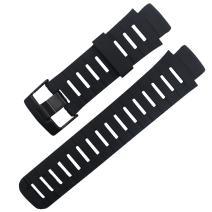 MCXGL Black Rubber Replacement for SUUNTO X-lander Strap men watch band