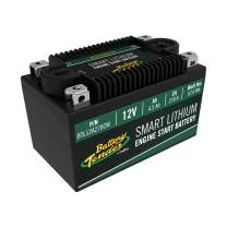 Battery Tender Engine Start Battery: Lithium Motorcycle Battery with Smart Battery Management System (BMS) - 12V 4.5 AH 270 CCA Lightweight Starting Batteries for Motorcycles and ATVs - BTL12A270CW