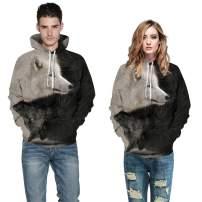 PIZOFF Unisex Casual Hoodie Pullovers 3D Digital Print Sweater Couple Hooded Sweatshirt Jacket Baseball Suit