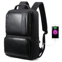 BOPAI Business Backpack 15.6 inch Laptop Bag USB Charging Port and Anti-Theft Computer Rucksack