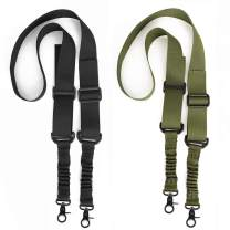 Accmor 2 Point Sing, Two Point Traditional Strap with Metal Hook for Outdoor Sports