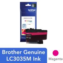 Brother Genuine LC3035M, Single Pack Ultra High-Yield Magenta INKvestment Tank Ink Cartridge, Page Yield Up to 5,000 Pages, LC3035, Amazon Dash Replenishment Cartridge