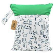 iZiv Baby Waterproof Reusable Wet Dry Bag, Nappy Bag, Reusable Wet Bag