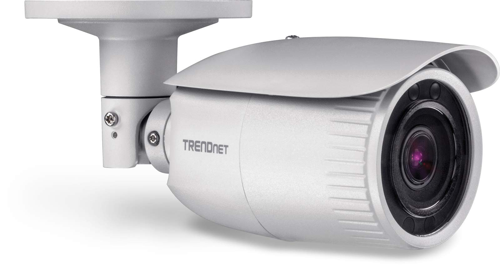 TRENDnet Indoor/Outdoor 4 MP, Motorized Varifocal PoE IR Network Camera, Auto-Focus, Optical Zoom, Digital WDR, Night Vision up to 98ft, IP66 Rated Housing, ONVIF, IPv6, TV-IP344PI