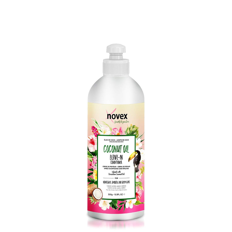 Novex Hair Care Coconut Oil Leave in Conditioner, 10.5 oz