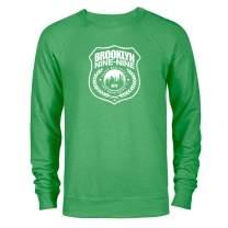 Brooklyn Nine-Nine Badge St. Patrick's Day Lightweight Crew Neck Sweatshirt