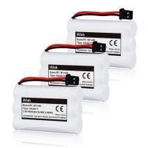 3-Pack iMah BT-446 BT-1005 Battery Compatible with Uniden TXC146 TXC400 TXC580 DCT646 DCX770 TCX800 TXC860A TCX950 TRU8885 TRU8888 TRU9460 TRU9465 TRU9480 TRU9485 Handset Phone, DC 3.6V Ni-MH